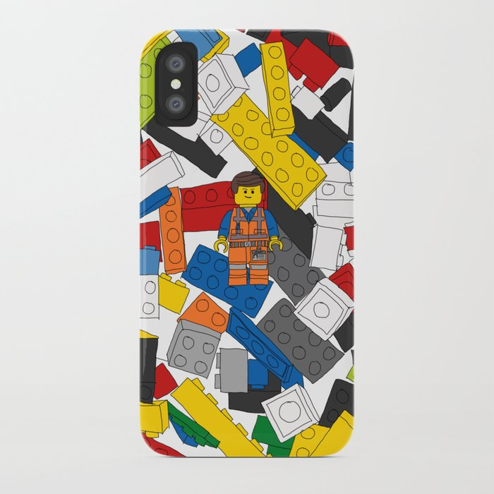 size 40 d5300 bd2f1 The Lego Movie iPhone Case by martinlucas