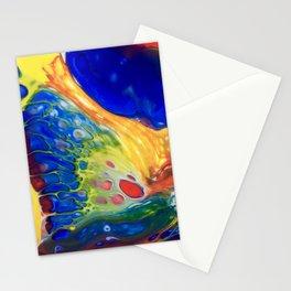 Blue lava Rock Stationery Cards
