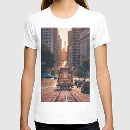San Francisco Trolley (Color) T-shirt