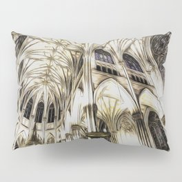 Cathedral Architecture Art Pillow Sham