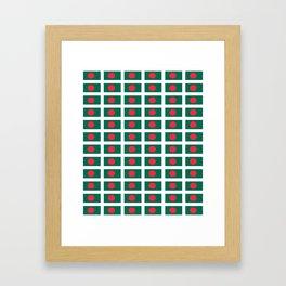 flag of bengladesh-bengladesh,Bengali, bengladeshi,bengalবাংলাদেশ, dhaka. Framed Art Print