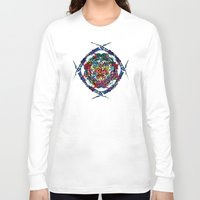 shield Long Sleeve T-shirts featuring SHIELD by Paix Vivante