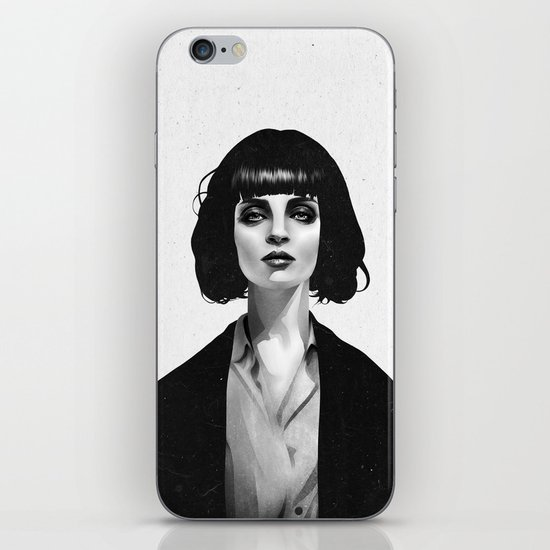 Mrs Mia Wallace iPhone & iPod Skin