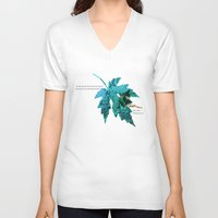 tinker bell V-neck T-shirts featuring Tinker Bell I'll always love you by Chien-Yu Peng