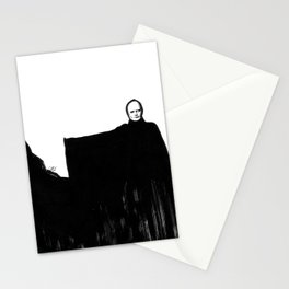 Nothing Escapes Me, No One Escapes Me Stationery Cards