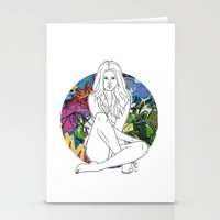 selena Stationery Cards featuring Selena by vllancourt