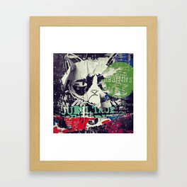 Jubel Cat Framed Art Print