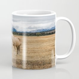 Mountain Horse - Western Style in the Grand Tetons Coffee Mug