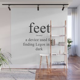 WHAT ARE FEET? - DEFINITION Wall Mural