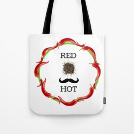 The power of chilly pepper Tote Bag