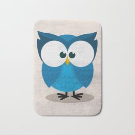 BLUE OWL Bath Mat
