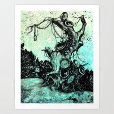 Lost Boy's Hideout Art Print