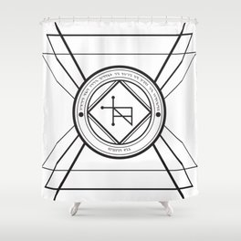 Sigil Shower Curtains | Society6