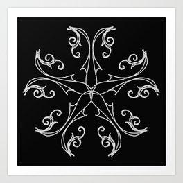 Five Pointed Star Series #6 Art Print