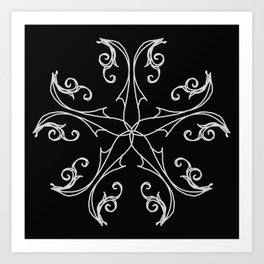 Five Pointed Star Series #6 Art Print