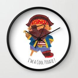 Cool Pirate Wall Clock