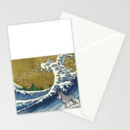 Schnauzer 2 Stationery Cards
