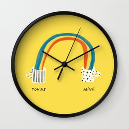 Better Together Wall Clock