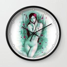 The Sad Lady Wall Clock