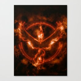 Team Valor - Moltres Canvas Print
