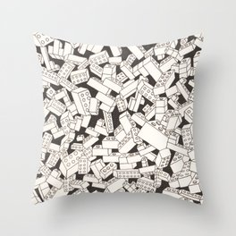 LEGO: Playwell.  Throw Pillow