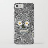 calavera iPhone & iPod Cases featuring Calavera by AkuMimpi