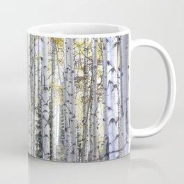 Aspen Forest Through the Trees Coffee Mug