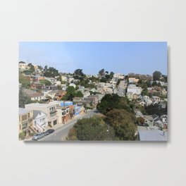 Noe Valley, SF Metal Print