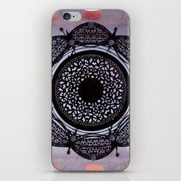 Lace magic iPhone Skin