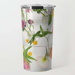 Spring Flowers - JUSTART (c) Travel Mug