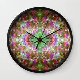 light rose Wall Clock