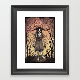 Witch of the Wood Framed Art Print