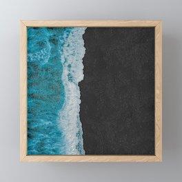 Fake Ocean Framed Mini Art Print