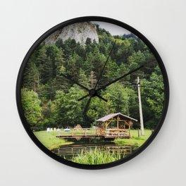 Romanian Landscape Wall Clock