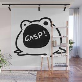 Gasp Frog Wall Mural