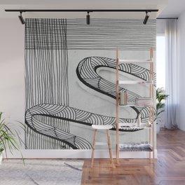 Lost Ribbon Wall Mural