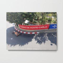 Grand Prix Monte Carlo Monaco Metal Print