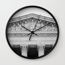 Equal Justice Under Law Wall Clock