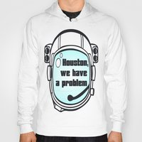 houston Hoodies featuring Houston Problem by TheLaptopSkinVault