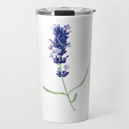 Lavender Flower Travel Mug