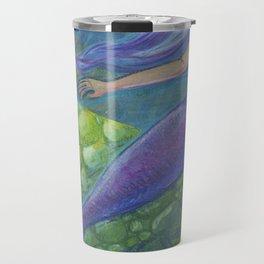 The Mermaid and The Turtles Travel Mug