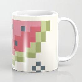 8Bit Watermelon Coffee Mug