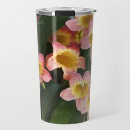 Tangerine Beauty Cross Vine Cascade Travel Mug