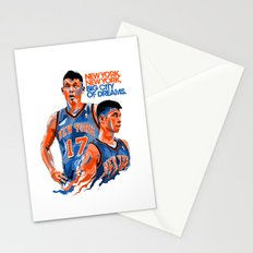 Jeremy Lin: New York, New York, Big City of Dreams. Stationery Cards