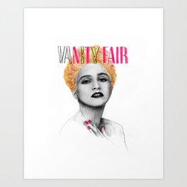 VANITY FAIR Art Print