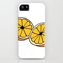 Mi Media Naranja iPhone Case