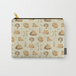 Travel pattern Carry-All Pouch