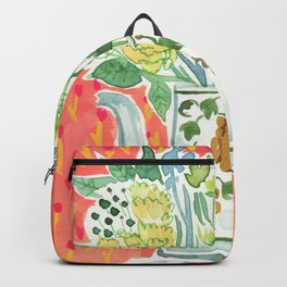 Think Happy Floral Backpack
