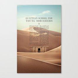 Wizarding Schools Around the World: Egypt Canvas Print