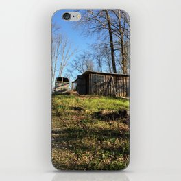 At The Farm iPhone Skin